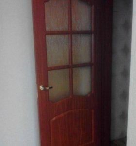 Дверное полотно с врезанной ручкой