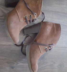 Ботильоны на шнуровке Carnaby