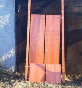 Готовые двери на кладовку