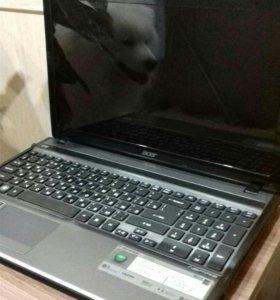 Ноутбук ASER S755G