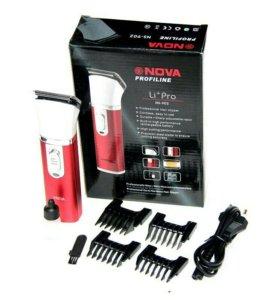 Машинка для бритья с насадками Nova