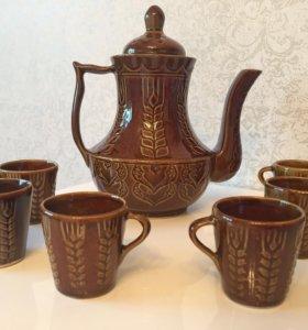 Чайный сервиз Новый! Керамический