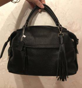 Новая. Шикарная сумка. Натуральная кожа