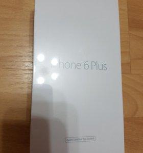 Новый iphone 6+ silver 16GB