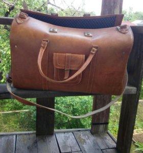 Старый Саквояж-чемодан