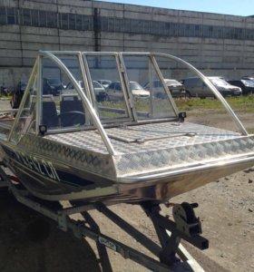 Лодка мастер 440 плюс Мотор Tohatsu 40