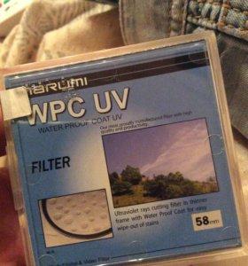Marumi wpc uv 58 мм фильтр светофильтр