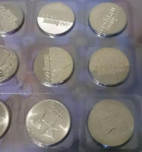 монеты Сочи 25 рублей