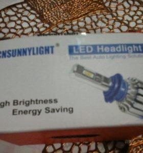 Светодиодные лампочки н7