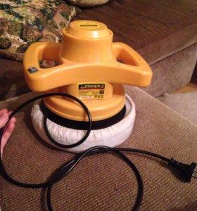 Электрическая полировальная машинка