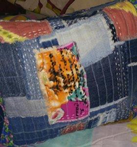 Сумочка джинсовая, новая, ручная работа