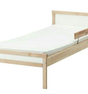 Кровать + матрас новый ИКЕА