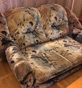 2х-местный польский диван раскладной