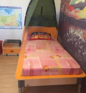 Кровать + тумбочка Cilek