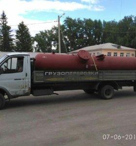 Услуги автомобиля Газель длина кузова 6 метров.