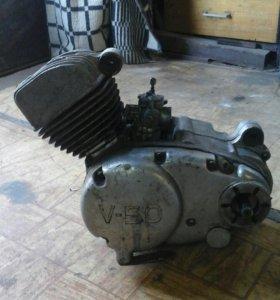 Двигатель v50