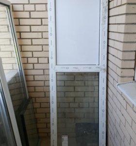 Стеклопакет с балкона