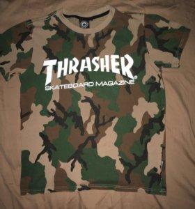 Футболка THRASHER ( thrasher skateboard magazine)