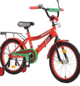 """Велосипед двухколесный 18"""" graffiti Premium Racer"""