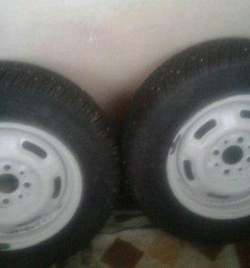 Колеса R13.