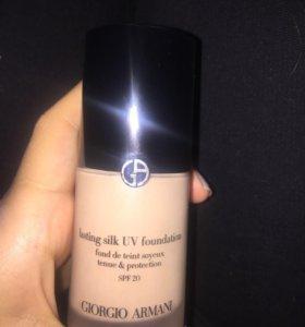 Тональный крем флюид Giorgio Armani lasting silk