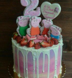 Тортик на детский праздник, на крестины!
