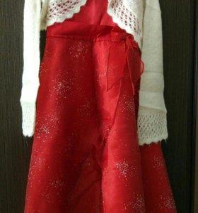 Платье для девочки 7-8 лет