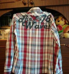 Рубашки на мальчика 7—9 лет.