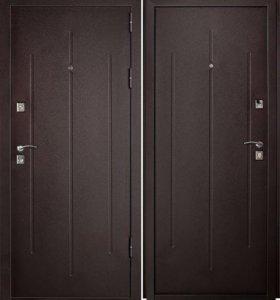 Металлическая дверь Стройгост 7/2 минеральная вата