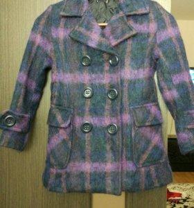 Пальто для девочки Elsey 7-8 лет
