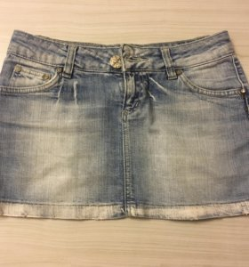 ✅Roberto Cavalli.Юбка джинсовая