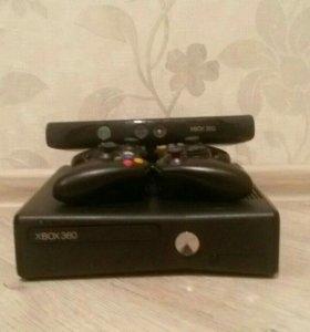 Xbox 360 Elite+14 Игр+2 Геймпада+ Кинект