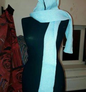 шапка и шарф 2 в 1