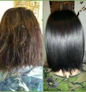 Ламинирование Волос(стрижка в подорок)