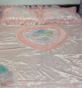 Покрывало на 2- х спальную кровать