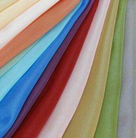 Вуаль однотонная цветная
