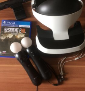 PlayStation VR, Resident evil, ps move, ps camera