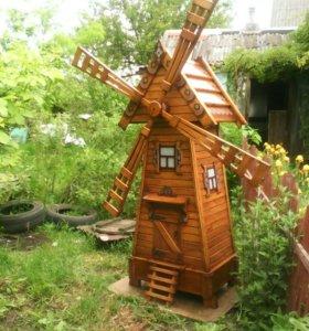 Декоративная ветр. мельница