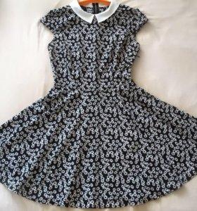 Платье с юбкой- солнце
