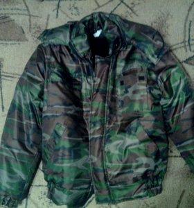 Новая зимняя мужская куртка (камуфляжная )