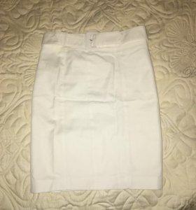 Белая юбка Маngo