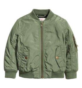 H&M Утепленная куртка-бомбер