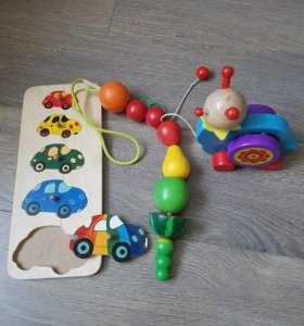 Деревяные игрушки