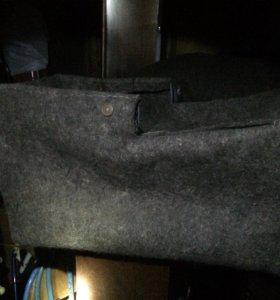 Войлочный кофр на санки