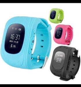 Детские часы q-50 с GPS маячком