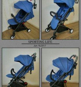 Детская коляска Baby Throne спинка 180*
