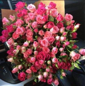 51 роза, 60 см
