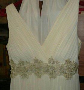 Лёгкое платье на свадьбу и на выпускной