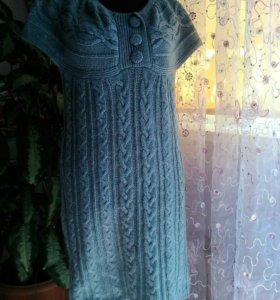 Платье тёплое 44-46 р