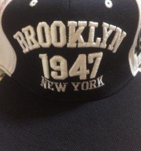 Продам бейсболку Brooklyn
